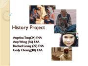 History ppt
