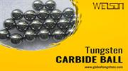 Exclusive Cemented  Tungsten Carbide Ball by Global Tungstens