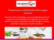 Temperature and Humidity Data Logger Services