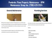 Pompano Beach Parking Lot Sweeping Services