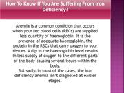 Suffering From Iron Deficiency - Iron Catch