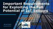 Enter the Age of Machines with IoT Sensors