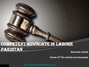 Top And Best Female Advocate in Lahore Pakistan For Legal Services
