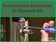 Commercial Locksmith In Edmond OK