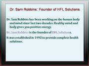 Dr. Sam Robbins: Founder of HFL Solution