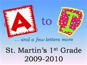 09-10 StM 1st Grade ABCs