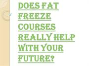 How Long it Takes for Completing the Fat Freeze Courses?