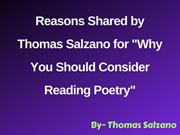 Reasons Shared by Thomas Salzano for Why You Should Consider Reading P