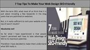 7 Top Tips To Make Your Web Design SEO-Friendly
