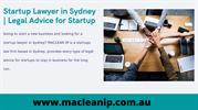 Startup Lawyer in Sydney _ Legal Advice for Startup