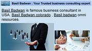 Basil Badwan _ sole proprietor d_b_a Hawk Financial Services