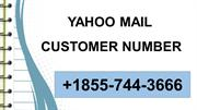 1*855**744**3666  Yahoo Mail Customer Service Number