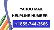 Yahoo Mail Helpline Number 1*855**744**3666