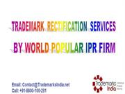 Swift and Economical Trademark Rectification Services by TM Firm