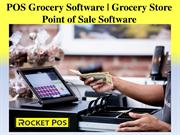 Grocery POS System Software