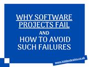 Why Software Projects Fail and How to Avoid Such Failures