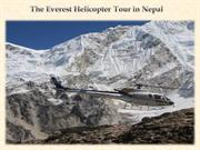 The Everest Helicopter Tour in Nepal