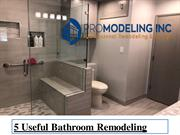 5 Useful Bathroom Remodeling Tips
