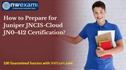 Latest Juniper JNCIS-Cloud (JN0-412) Certification | Sample Question