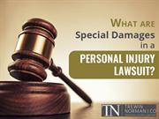 Special Damages in a Personal Injury Lawsuit - Personal Injury Lawyer