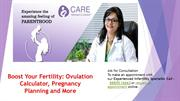 Boost Your Fertility Ovulation Calculator, Pregnancy Planning and More