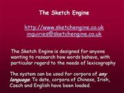 Sketch Engine June 27 SEAL