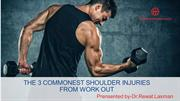 Shoulder Injuries while Workout-Best Shoulder Injury Specialist in Ban