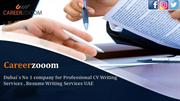 Dubai`s No 1 company for Professional CV Writing Services
