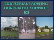 INDUSTRIAL PAINTING CONTRACTOR DETROIT MI