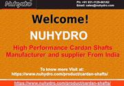 High Performance Cardan Shafts Manufacturers