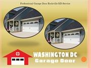 Professional Garage Door Rockville MD Service