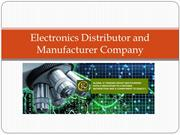Electronics Distributor and Manufacturer Company