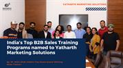 India's Top B2B Sales Training Programs named to YMS