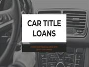 Get Cash against your vehicle's title With Car Title Loans!