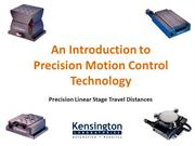 Introduction to Precision Motion Control Technology- Kensington Labs