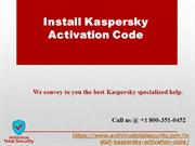 How To Install Kaspersky Total Security With Activation Code