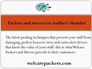 Welcarepackers - Packers and movers in Andheri Mumbai  Movers and pack