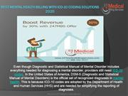 Best Mental Health Billing with ICD-10 Coding Solutions 2020