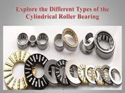 Explore the Different Types of the Cylindrical Roller Bearing