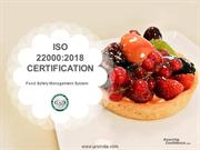 FSMS ISO 22000 Certification