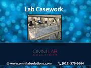 Lab Casework design for Mass Spec Lab  | OMNI Lab Solutions