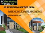 3d architectural rendering service india