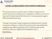 COVID 19 measures for expats in Mexico