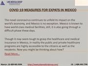 COVID 19 measures for expats in Mexico PDF