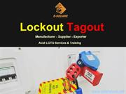 E-Square - Lockout Tagout Manufacturer and Supplier Company in India