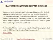 Healthcare benefits for expats in Mexico