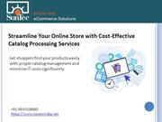 eCommerce Catalog Data Entry & Processing Services