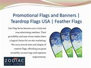 Teardrop Flags USA | Feather Flags | Promotional Flags and Banners