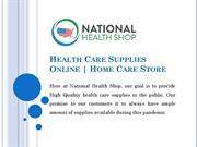 Home Care Store USA | Get Health Care Supplies Online