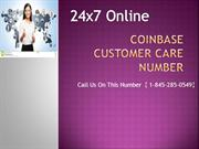 coinbase customer care number